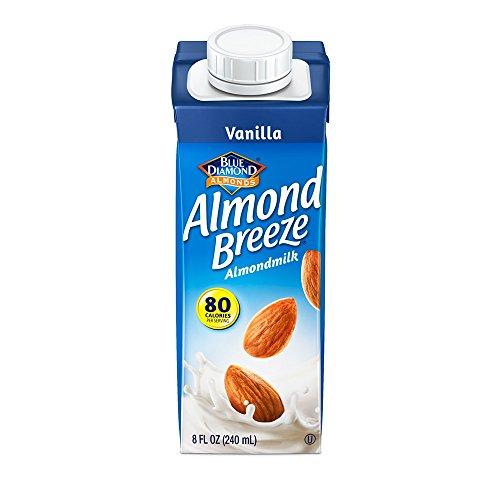 (Almond Breeze Dairy Free Almondmilk, Vanilla, 8 Ounce (Pack of 4))