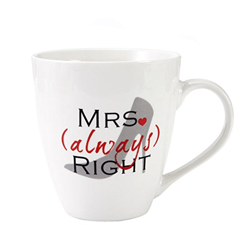 Pfaltzgraff Everyday Mrs Always Right Shoe 18 Oz Large Coffee Mug