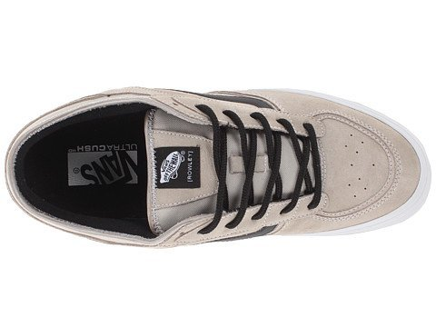 Vans Mens [Rowley] Pro Taupe Skate Boarding Shoes 6.5 Taupe -