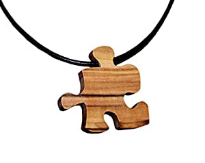 From The Earth Puzzle Piece Necklace