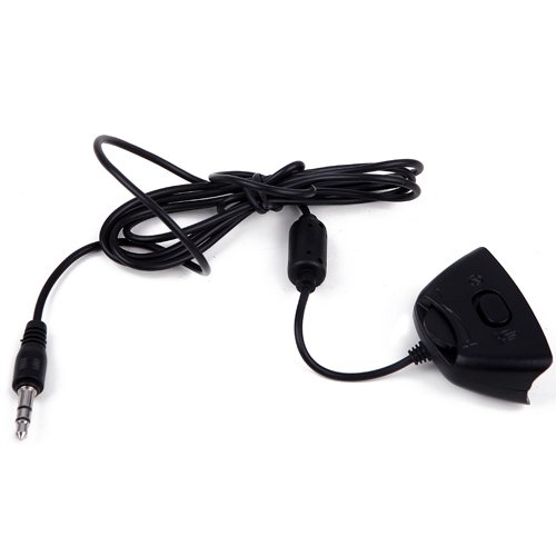HDE XBOX 360 Headset 2.5mm to 3.5mm XBOX Live Talkback Puck Cable for Turtle Beach Tritton AX120 AX180 AX720 AXPro V2