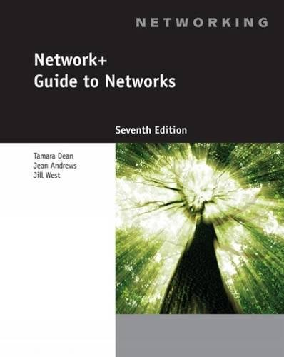 Network+ Guide to Networks cover