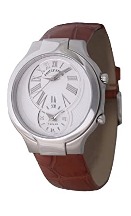 Philip Stein Teslar 6-cw-abr Edelstahl Quarz Damen-Armbanduhr
