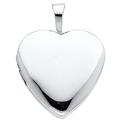 Crystal Open Heart Charm - 8
