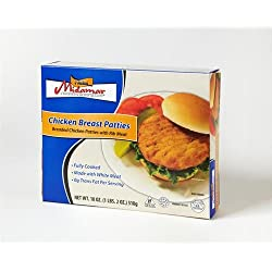 Midamar - Halal Chicken Breast Patties (fully Cooked) *