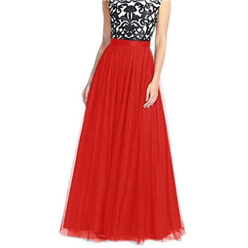 Ivan Johns Floor Length Tulle Party Long Skirt for Women 20US (1920s Hairstyles For Long Hair)