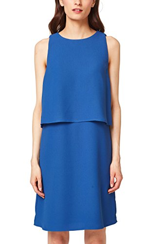 ESPRIT Collection Robe Femme Bleu (Bright Blue 410)