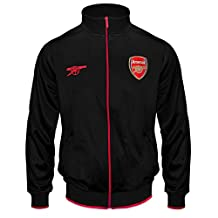 Arsenal Football Club Official Soccer Gift Mens Retro Track Top Jacket