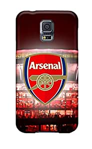 WE World Design High Quality Emirates Stadium Arsenal Cover Case With Excellent Style For Galaxy S5