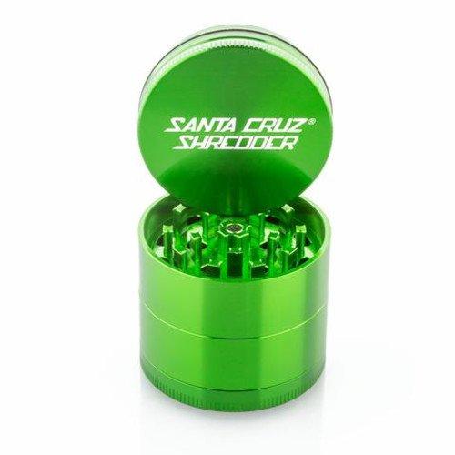 SANTA CRUZ SHREDDER - MEDIUM 4 PIECE GRINDER GREEN 2.125