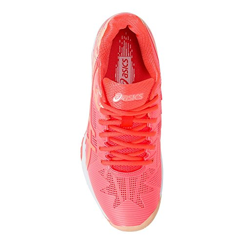 Asics Womens Gel-solution Speed 3 Scarpe Da Tennis Flash Corallo / Canteloupe / Ghiaccio Dalbicocca