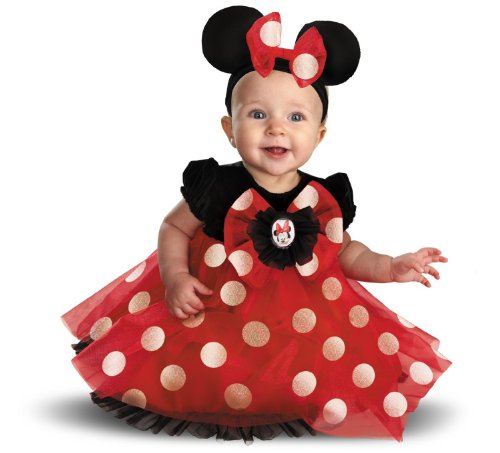[Disney Character Costumes : My First Disney Red Minnie Costume (6-12 months)] (Infant Red Minnie My First Disney Costumes)