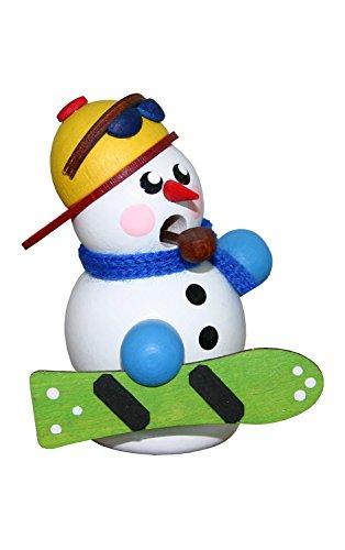 Alexandor Taron Home Decor Dregeno Snowman Snowboarder Incense Burner 3