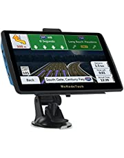 GPS Navigation for Car Truck Newest 2020 Map 7 Inch Touch Screen 8G 256M Navigation System with Voice Broadcast and Speed Camera Warning Lifetime Free Map Update