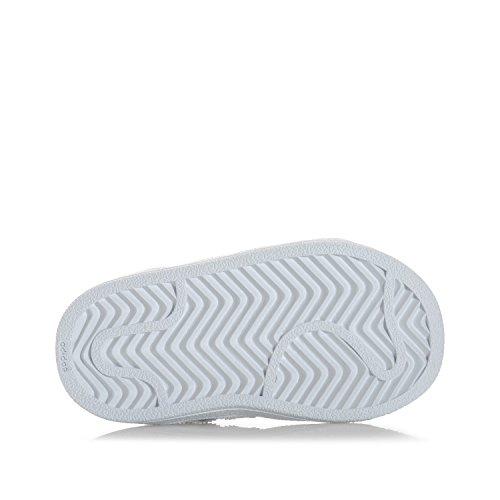 adidas Zapatillas de Material Sintético Para Niña, Color Blanco, Talla 25 EU Niño