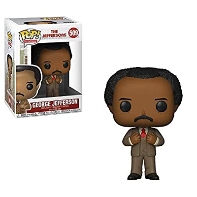 Funko Pop! TV: The Jefferson's - George Jefferson Toy, Multicolor: Toys & Games