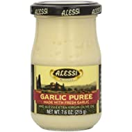 Alessi Spread Garlic Puree, 7.6-Ounce (Pack of 6)