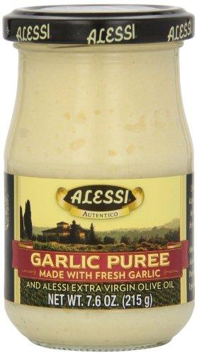 Alessi Spread Garlic Puree, 7.6-Ounce (Pack of ()