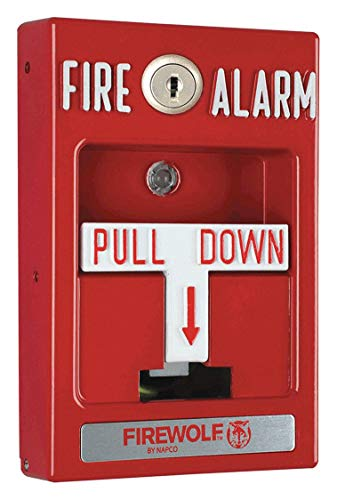 Napco Alarms - Fire Pull Station, 4