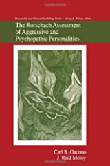 The Rorschach Assessment of Aggressive and Psychopathic Personalities (Personality and Clinical Psychology) Hardcover
