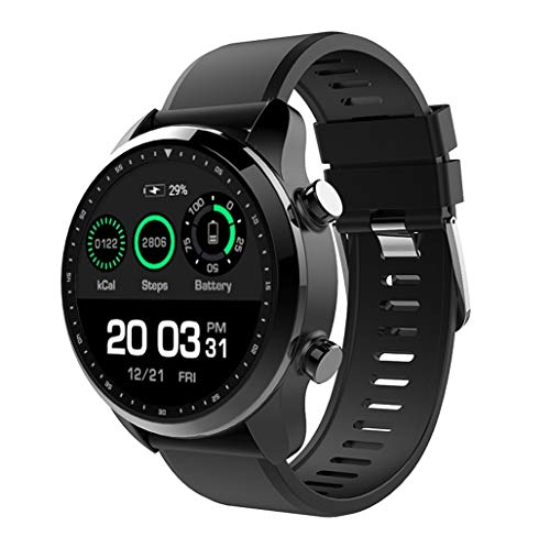 Smart Watch Bluetooth Digital Outdoor Electronic Sport Waterproof Multifunction Bracelet Step Counter Pedometer Calories with Heart Rate Sleep Monitor for Men Women Boys Teenagers Junior Black