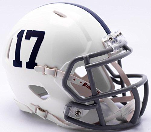 Riddell NCAA Penn State Nittany Lions Helmet Mini SpeedHelmet Replica Mini Speed Style 2017 Alternate, Team Colors, One Size
