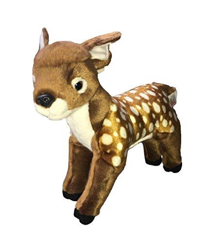 [Unipak Plush Animal 12in Fawn] (Fawn Costume Headband)