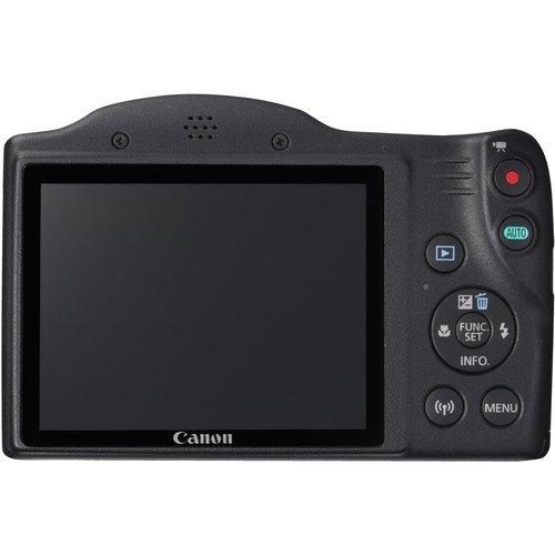 Canon PowerShot SX420 Digital Camera w/ 42x Optical Zoom – Wi-Fi & NFC Enabled (Black) – Deal-Expo Bundle
