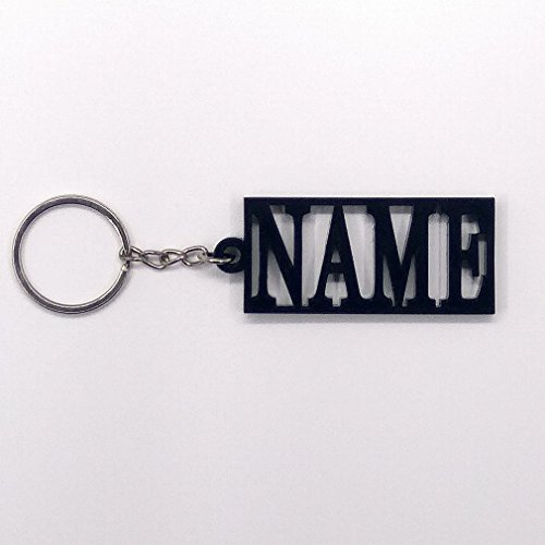 ivisi Personalized Key Chain Last Name (Design2) (Personalized Keychain)
