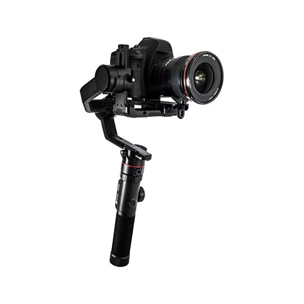 FeiyuTech AK4000 Camera Stabilizer 3-Axis Handheld Gimbal Fits Canon/Nikon/Sony/Panasonic DSLR Camera,Max Payload 4.0KG with Follow Focus II 1