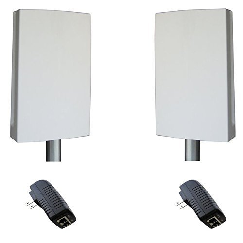 The EZ-Bridge-Lite EZBR-0214+ High Power Outdoor Wireless Point to Point System by Tycon Systems