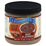 L.B.Jamison's Soup Base (Beef) (Pack Of 6)