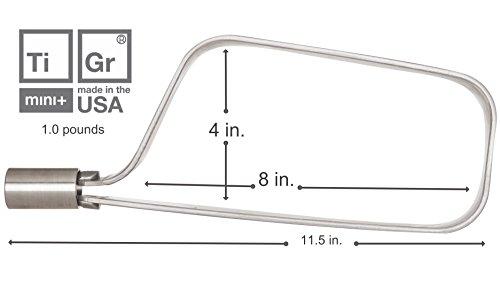 TiGr mini+ 2-Pack: 2 Bike Locks & 4 Keys (Keyed Alike) & 2 Mounting Clips by TiGr Lock (Image #6)
