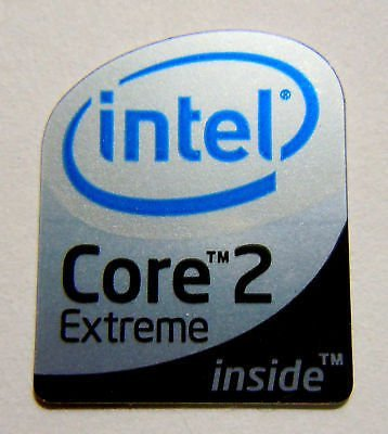 Centrino 2 vPro sticker logo badge 16mm x 20mm 10 pcs