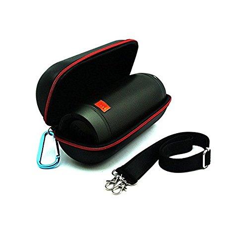 Hensych® Fashion viaje piel carcasa bolsa funda para JBL Pulse 2–Altavoz Bluetooth JBL2-CASE