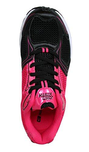 Zapatillas deporte de Mujer JOHN SMITH RACAX W 15I NEGRO-FUCSIA