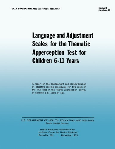 Download Language and Adjustment Sales for the Thematic Apperception Test for Children 6-11 Years pdf epub