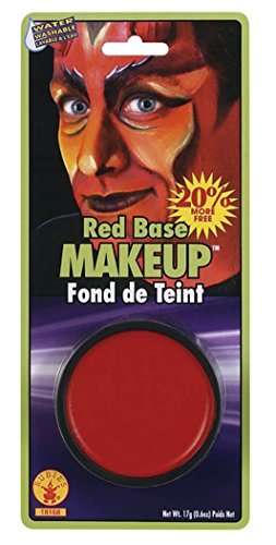 Devil Costume Makeup Male (Rubie's Costume Co Grease Paint Makeup-Red Costume)