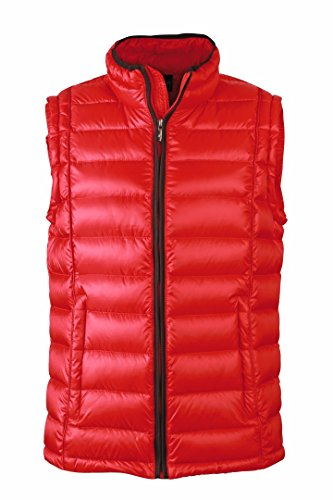 James JN1081 Women's Down amp; red S Jacket Quilted Puffer Nicholson Black xx4w6Pqf