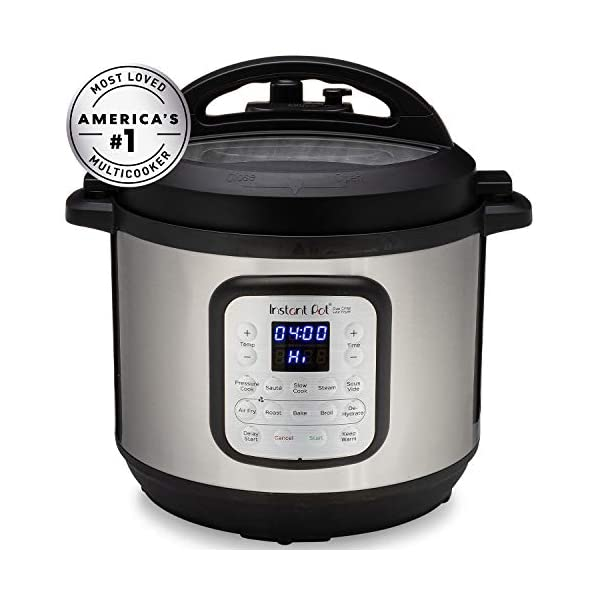 Instant Pot Duo Crisp Pressure Cooker 11 in 1, 8 Qt with Air Fryer, Roast, Bake, Dehydrate and more 2