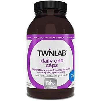Amazon Com Twinlab Daily One Caps Multi Vitamin And