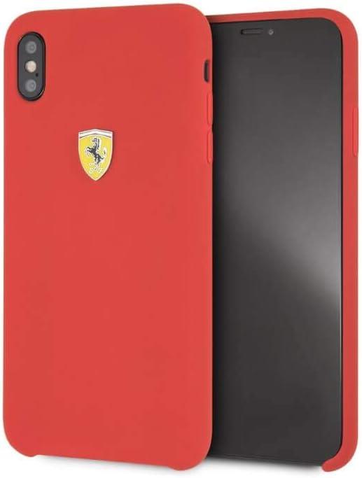 Ferrari FESSIHCPXRE CG - Funda para Apple iPhone X, Color Rojo ...