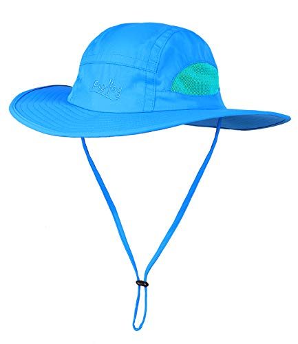 Sun Hat for Men&Women,Breathable Wide Brim Beach Cap with Adjustable Drawstring,Perfect for Hiking,Fishing,Boating -