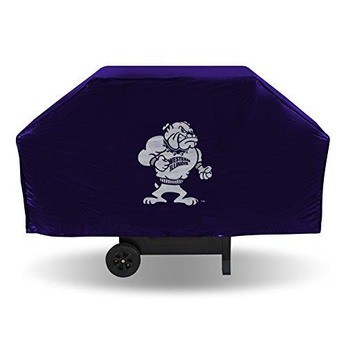 - NCAA Western Illinois Leathernecks Vinyl Grill Cover, Purple