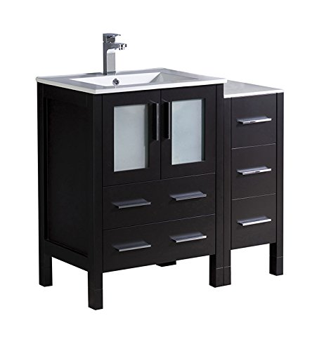 Espresso Modern Bathroom Vanity (Fresca Torino 36