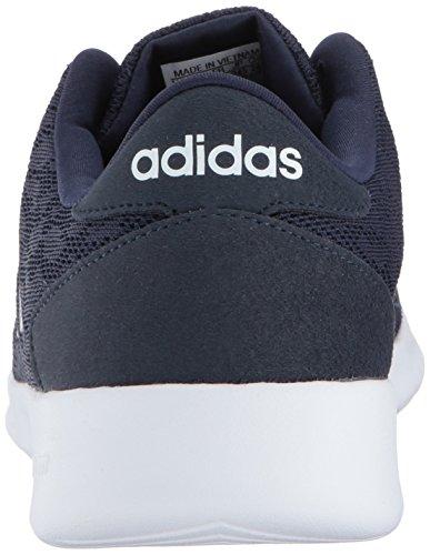 Adidas Donna Cf Qt Racer W Sneaker Blu Navy Collegiata / Blu Scuro