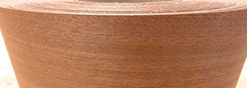 Sapele Ribbon Mahogany wood veneer edgebanding 1.375