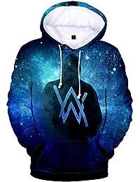 Silver Basic Alan Walker 3D Printed Sweatshirt Pullover Unisex Fan Hoodies