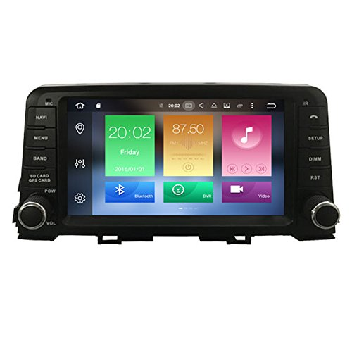 Autosion Android 8.0 Octa Core 64 Bit iNand 32GB 4GB Car DVD Player GPS Stereo Head Unit Navi Radio Stereo WiFi for Kia Picanto Morning 2017 2018 Support Steering Wheel Control