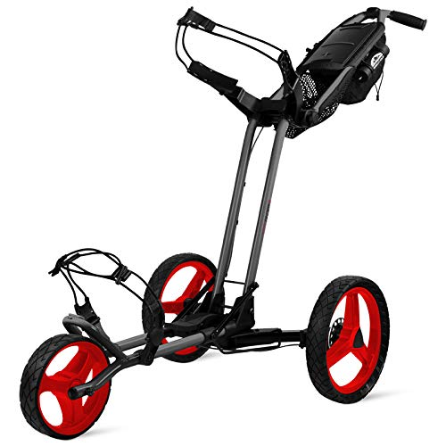 Sun Mountain Pathfinder 3 Push Cart Grey/Red